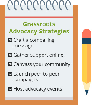 Improve your grassroots advocacy campaign with these five strategies
