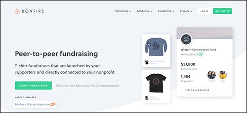 Explore Bonfire's peer-to-peer fundraising platform.
