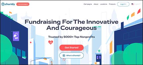 Explore Charidy's peer-to-peer fundraising platform.