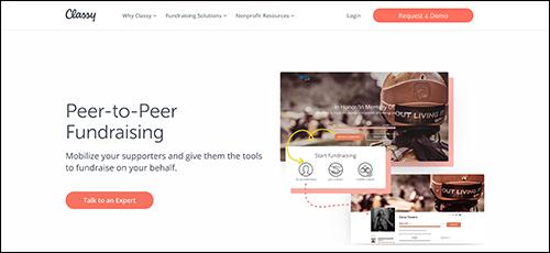 Explore Classy's peer-to-peer fundraising platform.