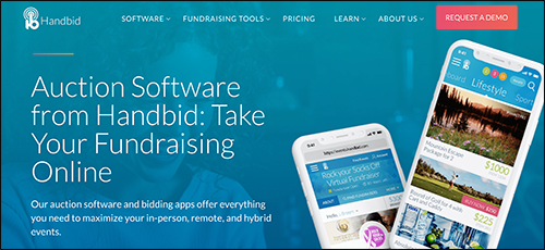 Explore Handbid's peer-to-peer fundraising platform.